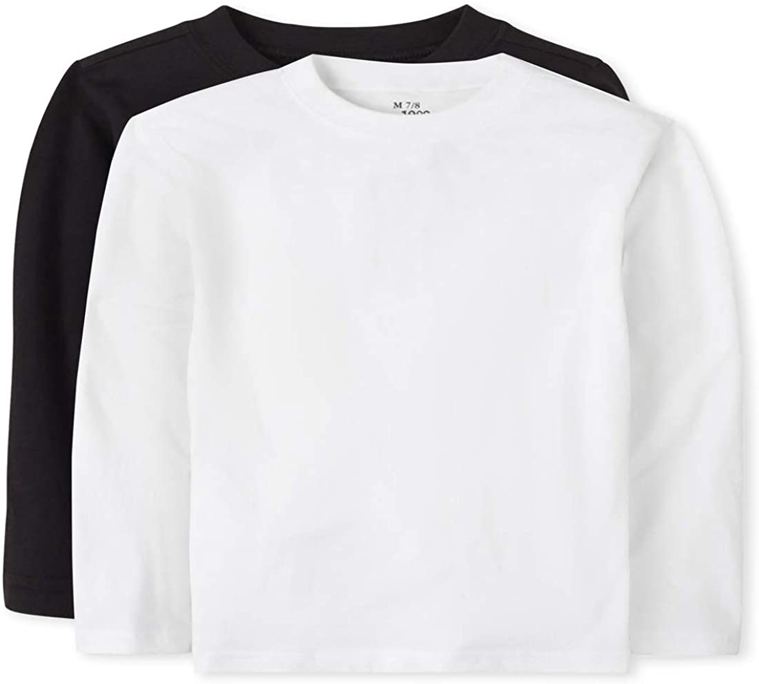 The Children's Place Baby Toddler Boys Long Sleeve Basic Layering T-Shirt