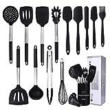 CIYOYO Kitchen Utensil Set, 15 Pcs Silicone Cooking Utensils Set, Cooking Tools Turner