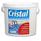 Cristal CHLORTABLETTEN Chlor-Langzeit-Tabletten 1136182 200 5kg