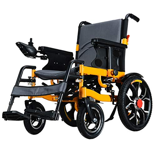 Fire cloud Intelligente, lichte opvouwbare elektrische rolstoel (20A Li-Ion accu), krachtige dubbele motor, aandrijving met elektrische energie of gebruik als handmatige rolstoel