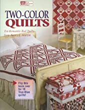 Two-Color Quilts: Ten Romantic Red Quilts and Ten True Blue Quilts by Nancy J. Martin (1998-05-02)