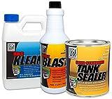KBS Coatings 53000 Auto Fuel Tank Sealer Kit, Seals Up to 25 Gallon Tank