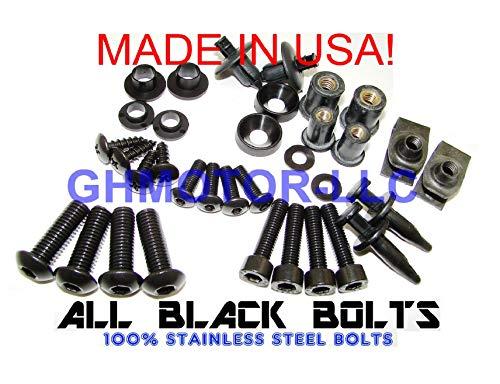 Complete Fairing Bolt Kit Black Body Screws for HONDA 1997 1998 1999 2000 2001 2002 2003 CBR 1100XX