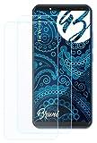 Bruni Schutzfolie kompatibel mit Vernee X Folie, glasklare Bildschirmschutzfolie (2X)