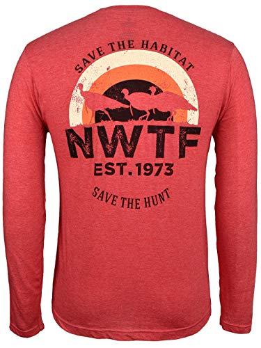 National Wild Turkey Federation Men's Lifestyle Long Sleeve Tee Shirt XXL