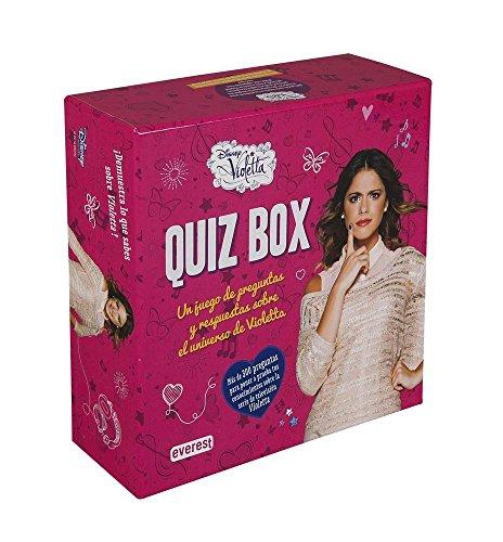 Violetta. Quiz box : un juego de preguntas y respuestas sobre el universo de Violetta (Libros singulares)