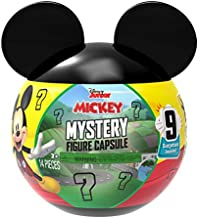Mickey Mouse Disney Junior Mystery Figure Capsule, 9 Pieces Inside, Amazon Exclusive