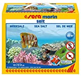 sera 05440 marin salt 3900 g - Meersalz für Osmose- und...