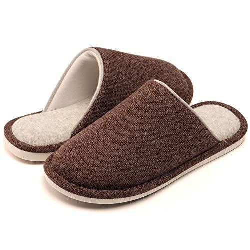 pantofole uomo nerd WINZYU Pantofole Donna Uomo Invernali Classico Leggero Morbido Caldo Antiscivolo Scarpe da Casa Ospiti