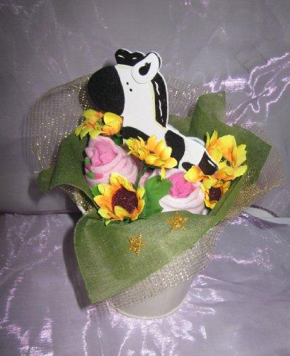 Cadeau unique véritable pour vêtements de bébé bouquets différents Styles pour un garçon et une fille 100% fait à la main.