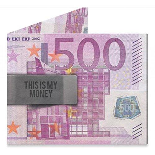 Mighty Wallet 500 Euro | Herren-Geldbörse | Geldbörse aus Tyvek | Paper Wallet