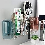 WARMLIFE Toothbrush Holder for Bathroom, Toothbrush Holder Set...