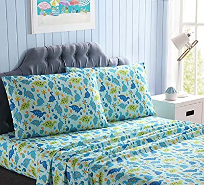 Kute Kids Super Soft Sheet Set - Includes Pillowcase(s); Available in Twin, Full & Queen Size