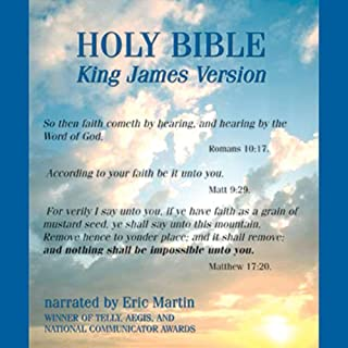 The King James Audio Bible cover art