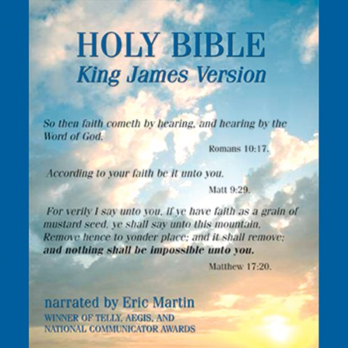 The King James Audio Bible audiobook cover art