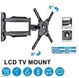 Gadget Wagon Gadget-Wagon 23 32 42 40 43 49 55\ Inch LED TV Wall Mount Bracket Decorative Strong Heavy Duty for LCD Plasma Also (Full Motion 23-55 inches)