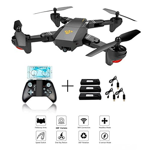 Creation XS809W Foldable RC Quadcopter avec...