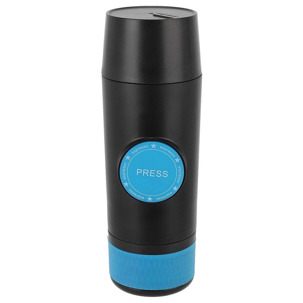 Cafetera de viaje, Mini USB Cargador portátil de mano Máquina de café en polvo Cafetera en polvo Máquina de café para viajes en el hogar Camping: Amazon.es: Hogar