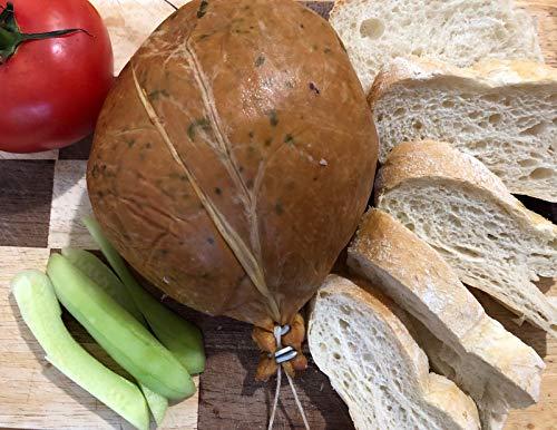 Leckere Leberwurst/Leberpastete vom Land, nach traditioneller Rezeptur, mit Petersilie verfeinert, ca. 800g