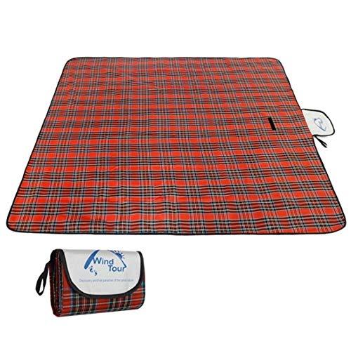N/F Estora de pícnic a l'aire lliure Estora de càmping Plegable de pícnic Manta de pícnic portàtil Resistent a l'aigua Manta de càmping per Dormir