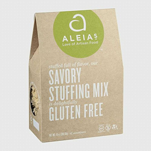 Aleia#039S Savory Stuffing Mix Gluten Free Pack of 6 Size  10 OZ Quantity  1 Case