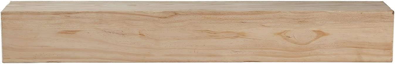 Pearl Mantels 496-72 Lexington 72-inch Mantel Shelf, Unfinished