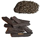 COALS 4 YOU 8 Piece Delamere Log Set with Free Vermiculite