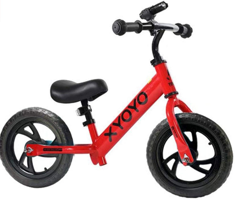 el mas reciente FYXT FYXT FYXT Equilibrio for Niños Scooter for Niños de 2 a 6 años de Edad Bicicleta Doble Rueda de Acero al Cochebono sin Pedal Deslizante (Color   rojo)  barato y de alta calidad