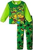 Nickelodeon Boys' TMNT 2 Piece Fleece Set, Multicolor, 2T Toddler