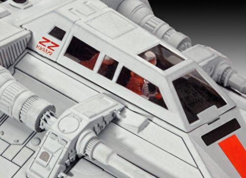 Revell Modellbausatz Star Wars Snowspeeder im Maßstab 1:52, Level 3, originalgetreue Nachbildung mit vielen Details, einfaches Kleben und Bemalen, 03604