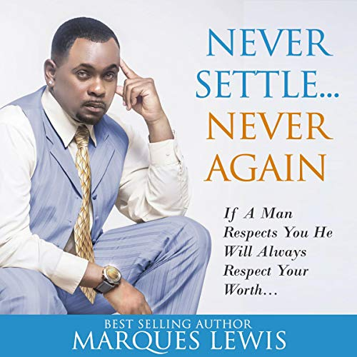 Never Settle...Never Again audiobook cover art
