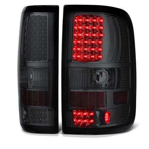 VIPMOTOZ For 2004-2008 Ford F-150 Pickup Truck Chrome Smoke LED Tail Brake Light...