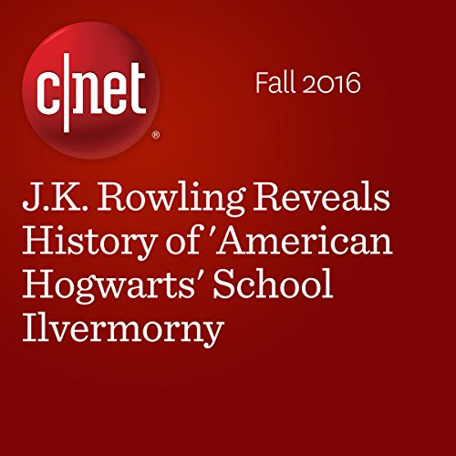 J.K. Rowling Reveals History of 'American Hogwarts' School Ilvermorny audiobook cover art