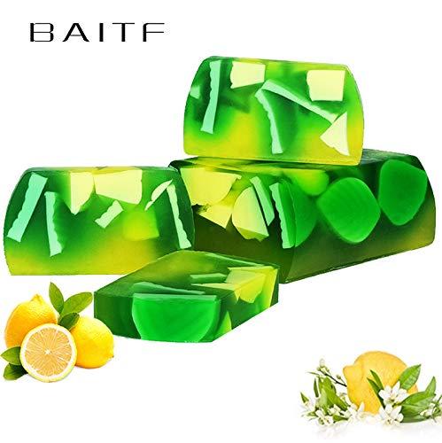 APRITECH® Pfefferminze mint Ätherische Öle Seife hand seife, 100% natürliche, Naturseife - Befeuchtet intensiv, kräftigt und versorgt die (Pfefferminze)