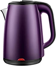 YRYBZ roestvrijstalen waterkoker met elektrische waterkoker, waterkoker 1,8 liter, snel koken en gemakkelijk te reinigen, ...