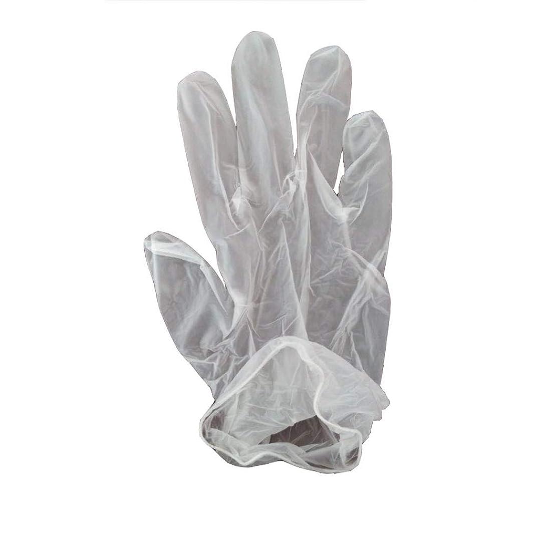 守る四分円最少100箱の使い捨て手袋、PVC手袋、透明で濃厚なヘアケア手袋。 (サイズ さいず : XL, UnitCount : 200 only)