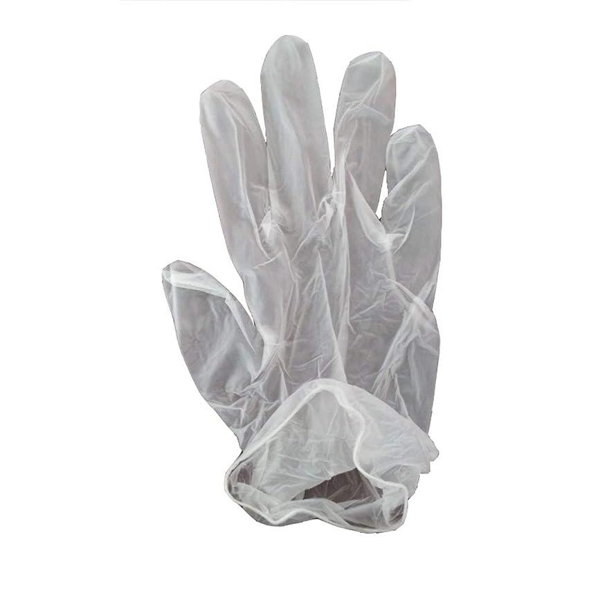 昨日ウェイド残忍な100箱の使い捨て手袋、PVC手袋、透明で濃厚なヘアケア手袋。 (サイズ さいず : XL, UnitCount : 200 only)