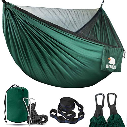 Covacure Camping Hammock - Lightweight Double Hammock, Hold Up to 772lbs, Portable Hammocks for Indoor, Outdoor, Hiking, Camping,...