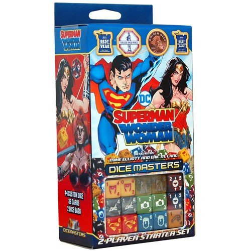 DC Dice Masters: Superman and Wonder Woman Starter Set - English