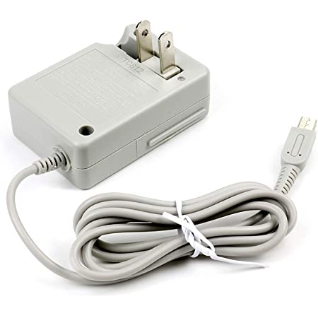 3DS Charger, Dsi Charger, AC Adapter Charger Home Travel Charger Wall Plug Power Adapter (100-240 v) for Nintendo New 3DS XL New 3DS 3DS XL 3DS New 2DS XL New 2DS 2DS XL 2DS DSi DSi XL