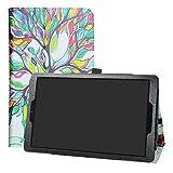 LFDZ Alcatel A3 (10) Wifi Case-Slim Folio Folding Stand PU
