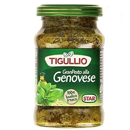 6x Star Tigullio GranPesto Pesto alla Genovese mit Basilikum 190 g Sauce Soße