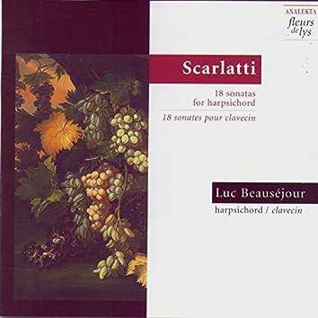 Scarlatti: 18 Sonatas for Harpsichord