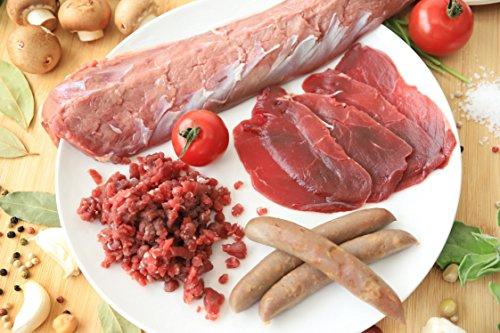 高タンパク・低カロリー!!鉄分豊富◎但馬産鹿肉よくばりセット ※レシピ付き