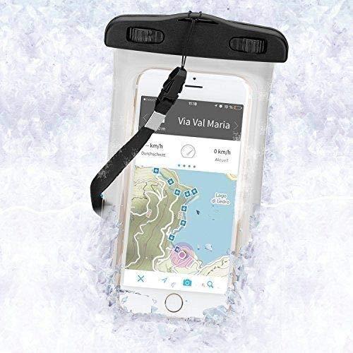 Wicked Chili snowbag para Apple, Samsung, Nokia, LG, HTC, Motorola–Funda impermeable para deportes de invierno, Exterior (4.0–5.2pulgadas/Protección contra el Nieve, Lluvia/Sumergible hasta 3m/IPX8)
