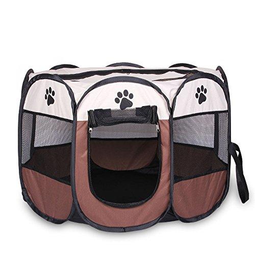 Casa para mascotas plegable, portátil e impermeable, para perros pequeños