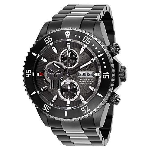 Invicta Reserve 27161 Marvel Punisher Grand Diver edición limitada suizo automático SW500 cronógrafo reloj