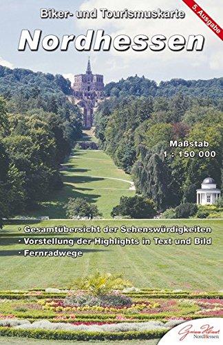 Nordhessen: Biker- und Tourismuskarte