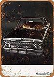 KODY HYDE Metall Poster - Monaco by Dodge - Vintage