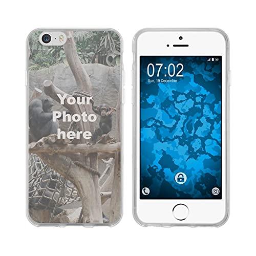 PhoneNatic Case Compatibile con iPhone 6 Plus / 6s Plus Custodia Personalizzata per telefoni cellulari Clear da Personalizzare con la Propria Foto